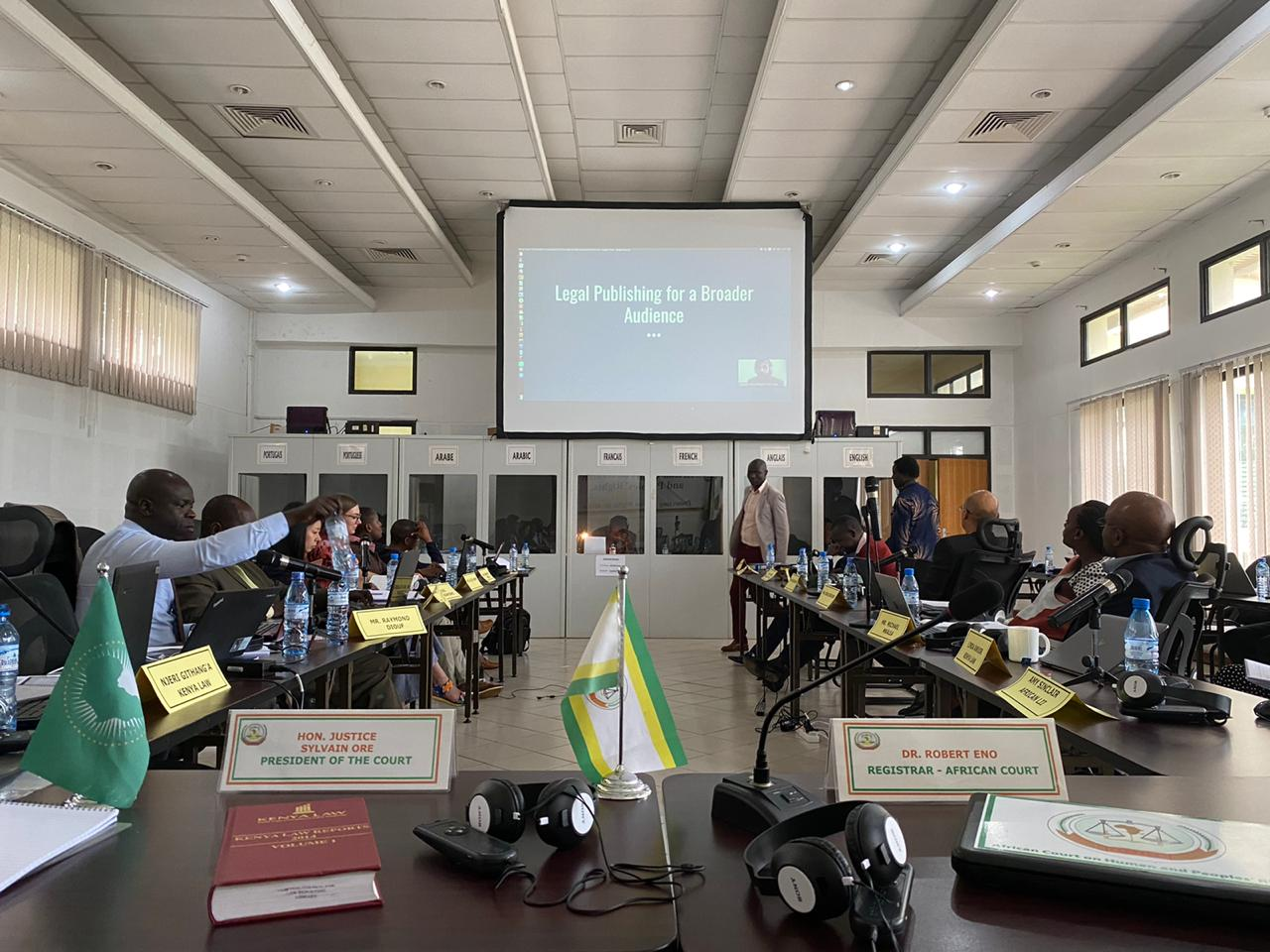 AfricanLII and Kenya Law train African Court and East African Court of Justice