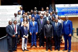 Senior judicial leaders, including host Uganda's Chief Justice Bart Magunda Katureebe and African Court President Justice Sylvain Ore, took part in the Freedom of Expression Seminar in Kampala, Uganda on 29 October 2019.